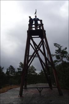 Utsiktstornet vid Fräkensjöberget