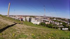 Att träna för alperna på platt mark